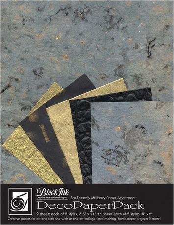 "Deco Paper Pack Large-8.5"" x 11"" Blue Storm picture"