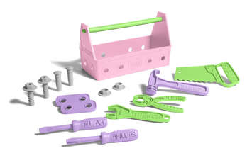 Green Toys Tool Set Pink picture