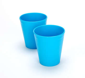 Green Eats Tumblers - Blue (2 pack) picture