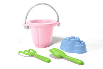 Green Toys Sand Play Set- Pink picture