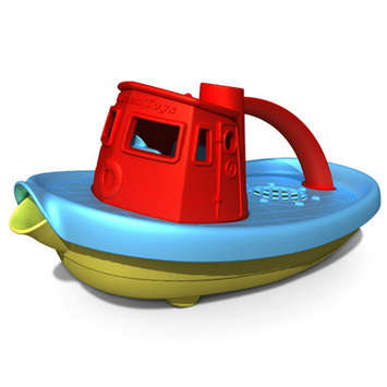 Green Toys Tug Boat Red picture