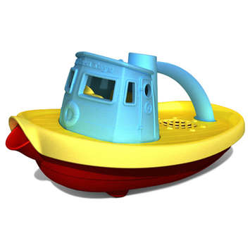 Green Toys Tug Boat Blue picture