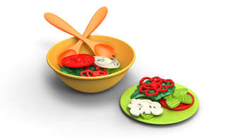 Green Toys Salad Set picture