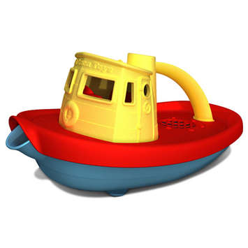 Green Toys Tug Boat Yellow picture