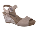 BEAUTY - Warm Grey Velcalf Premium/Light Sand Boa 12260/3312