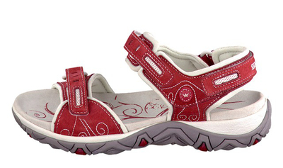 LAGOONA - Red Nubuck/Cool Grey Lycra 48/12 picture