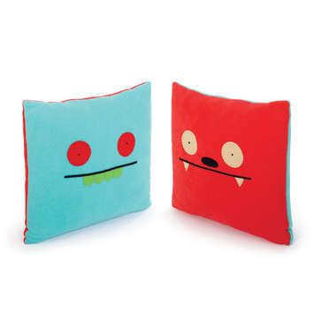 "14"" DBL. SIDED PILLOW - UGLYBOT/DAVE DARINKO picture"