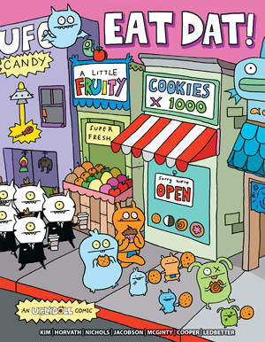 Uglydoll Comic Volume 3- Eat Dat! picture