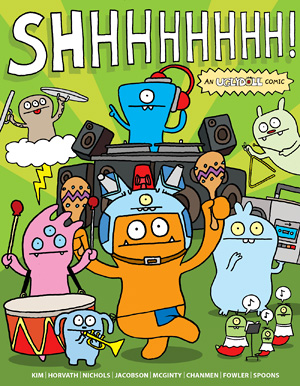 Uglydoll Comic Volume 2-SHHHHHHH! picture