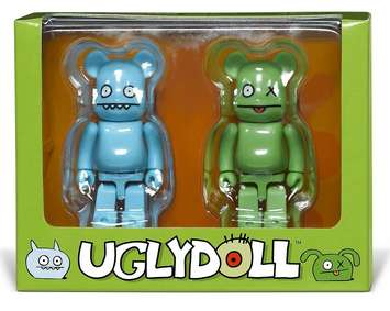 BE@RBRICK BY MEDICOM: UGLYDOLL OX & ICEBAT- DIRECT FROM JAPAN! picture