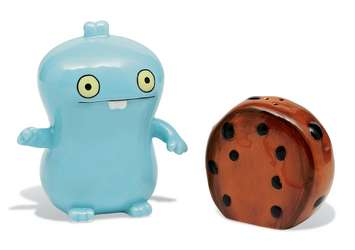 Babo & Cookie 2 PC Ceramic Salt & Pepper Shaker picture