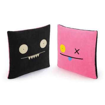"14"" DBL. SIDED PILLOW - OX/ICE-BAT picture"