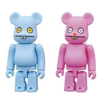 BE@RBRICK BY MEDICOM: UGLYDOLL TRUNKO™ & BABO™ DIRECT FROM JAPAN! picture