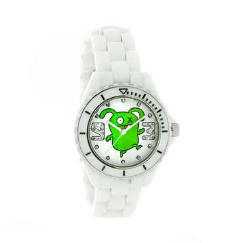 OX  White Ceramic Watch with Swarovski® Crystal LIMITED EDITION picture
