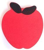 Magnetic Whiteboard Eraser - Apple