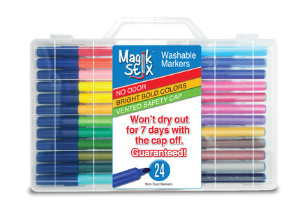 Magic Stix 24pk- Washable Markers picture
