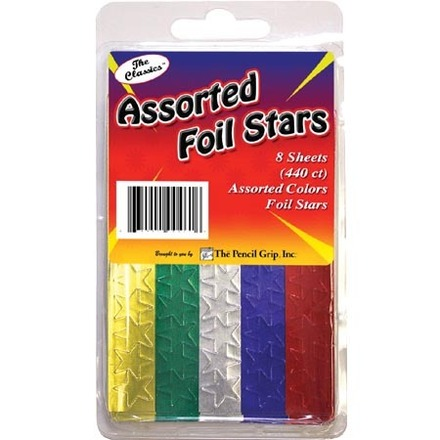 Foil Stars, Assorted picture