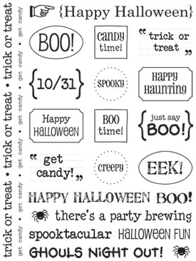 Sticker Sentiments - Halloween picture