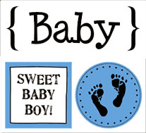 Quick Cards - Baby Boy picture