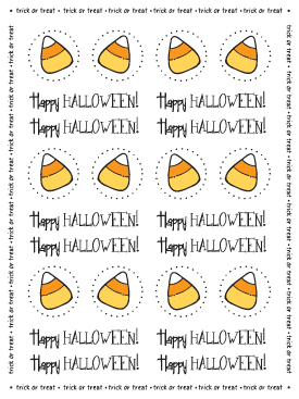 Stickers by the Dozen - Halloween picture