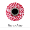 The Twinery™  Maraschino Red & White