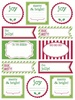 Labels by the Dozen - Christmas Greetings