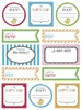 Labels by the Dozen - Birthday