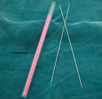 Knitting Needles Size 0000 (1.25mm)/pair picture