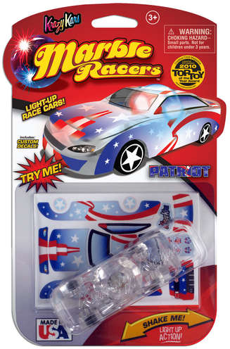 Krazy Kars Light Up Marble Racers