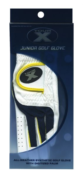 3pk. Tour X Junior Gloves picture