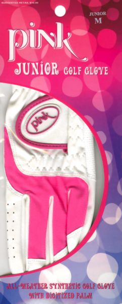 3pk. Tour X Pink or Purple Junior Gloves picture