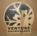 Reclaimed Wood Logo Sign picture