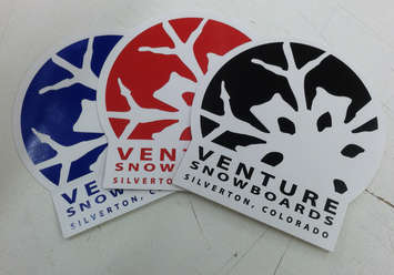 Snowglobe Logo Stickers - 3 Pack picture