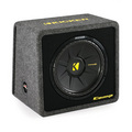 "Kicker CompS 12"" 4 Ohm Single Loaded Enclosure 40VCWS124"