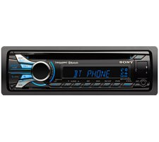 Buy Sony Car Audio - Sony Single DIN Car Stereo Receiver MEXBT4000P