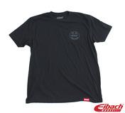 Eibach Vintage Logo Tee, Black, Small