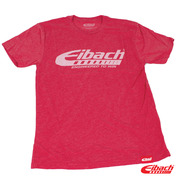 """Eibach """"Engineered To Win"""" Tee, Heather Red, Large"""