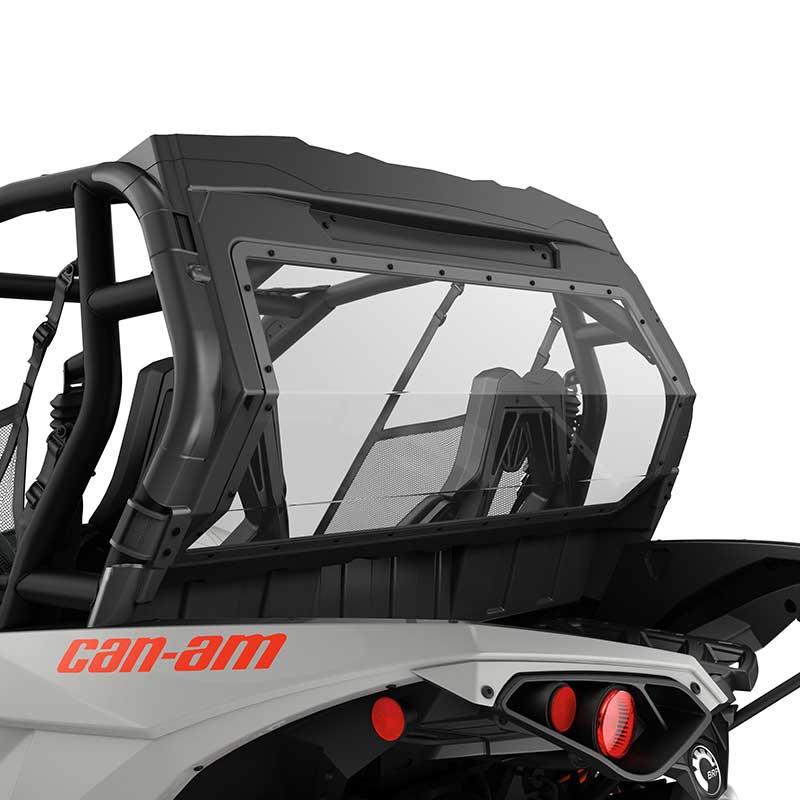 Can Am Atv Rear Window Rear Wind Protection