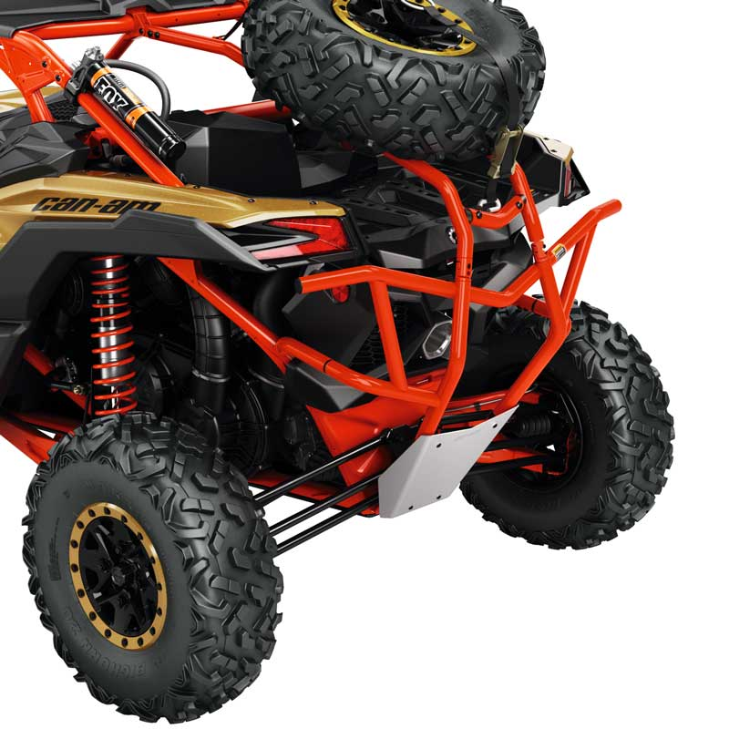 Can Am Atv Rear Cage Extension Can Am Red Maverick X3