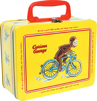 Curious George Keepsake Box picture