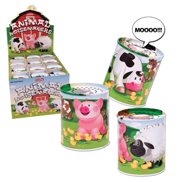 Animal Sound Maker, Tin picture