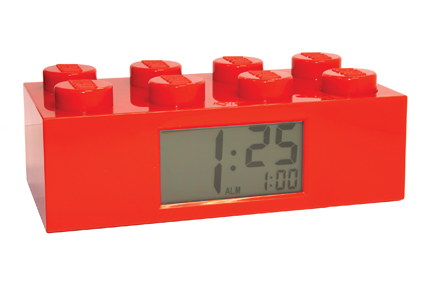 Lego Red Brick Clock picture