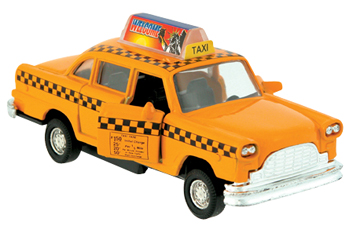 Die-Cast Taxi Pull-Back picture