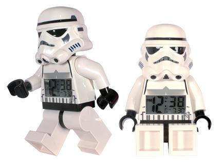 Lego Star Wars Stormtrooper Clock picture