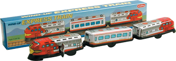 3 Car Train, Tin Wind-Up picture
