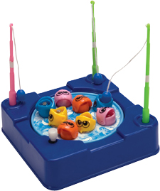 Gone fishing game wind up schylling for Gone fishing game