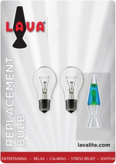 Lava Lamp   25 Watt Bulb 2Pk Picture