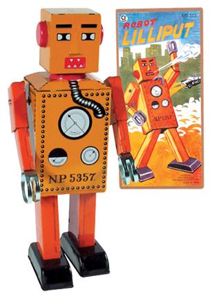 Robot Lilliput Large picture