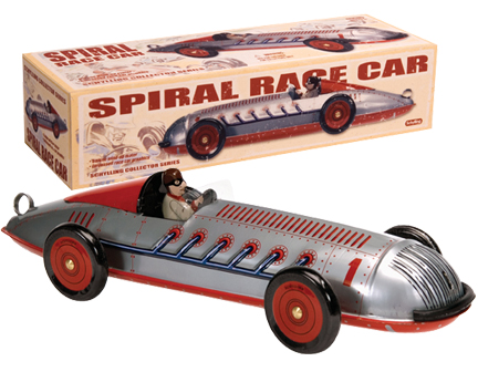 Spiral Race Car picture