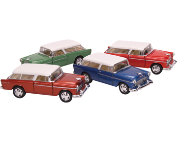 Die-Cast 1955 Chevy Nomad picture